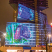 3D Projection mapping at ISE 2019