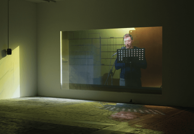 Clearview Screen Art Installation
