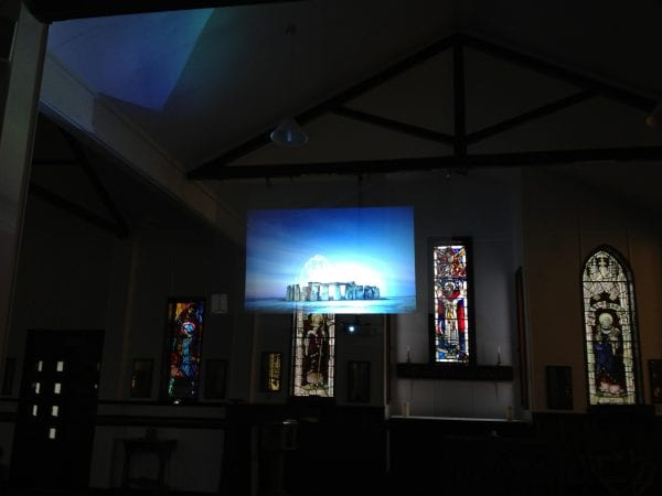 Clearview Holographic Effect Rear Projection offers an invisible screen that looks great as part of a wide variety of displays