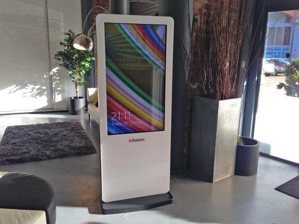 Freestanding Interactive Kiosk