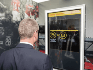 MUFC DHL touch screen