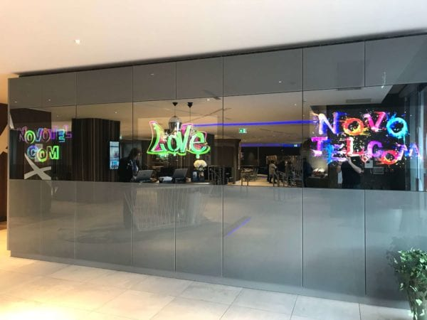Mirror LED Video Wall
