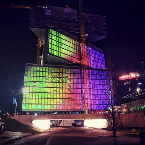 Projection Mapping Film - ISE 2019 nhow Hotel Front Projection