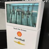 Shell custom exhibit display