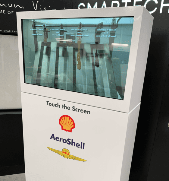 Shell custom exhibit display
