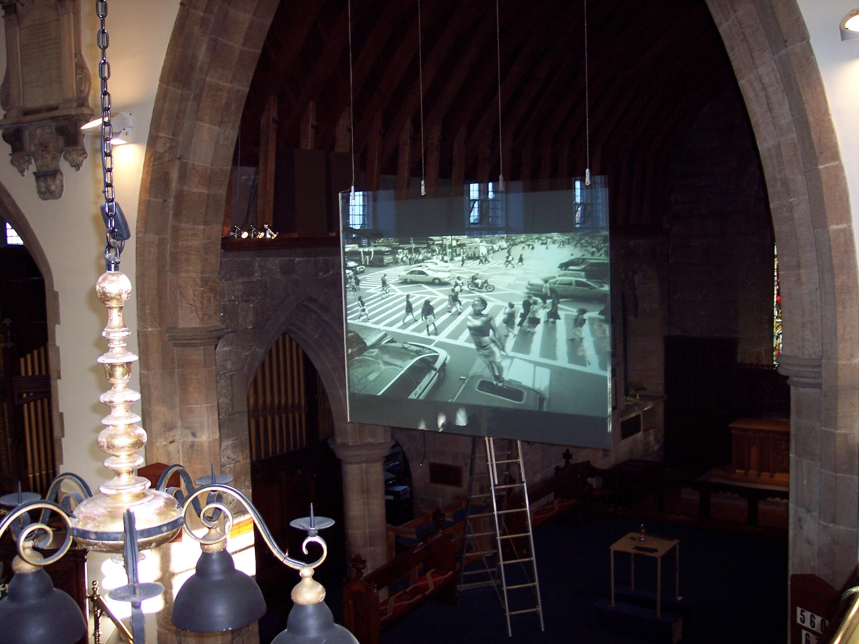 Discreet Projection Solutions For Churches Pro Display