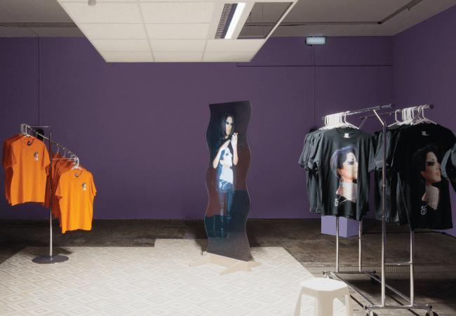 Ultra Black Projection Film Art Installation