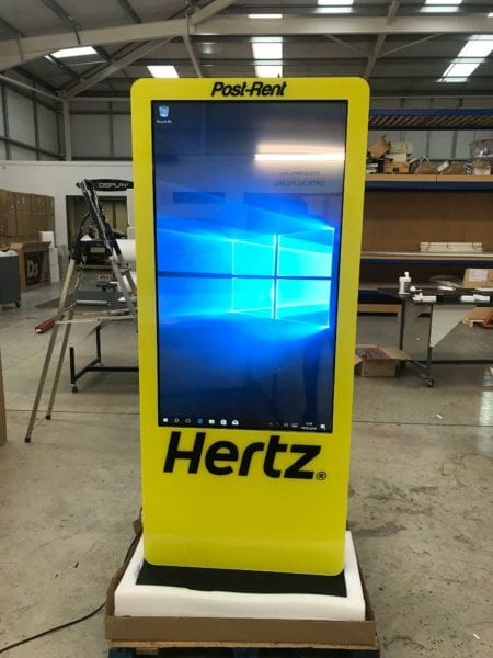 Digital Signage Kiosk | LCD Interactive Advertising Kiosk