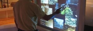 capacitive touch foil museums