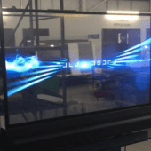 OLED Transparent Screens