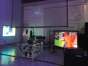 digital projection pro display screens