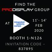 Pro Display ISE 2020