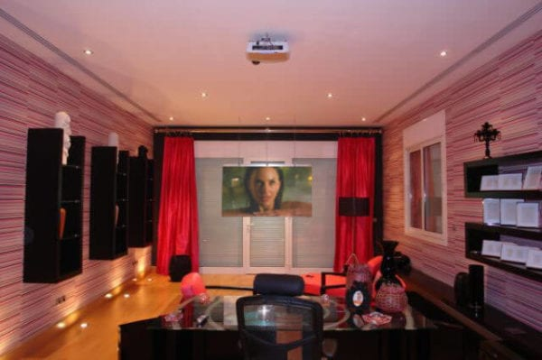 Front Projection Film Self Adhesive Film For High