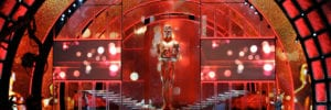 holographic projection technology at the oscars live event