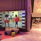 Largest Rigid Rear Projection Screen