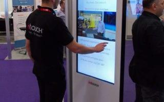 interactive kiosk museums
