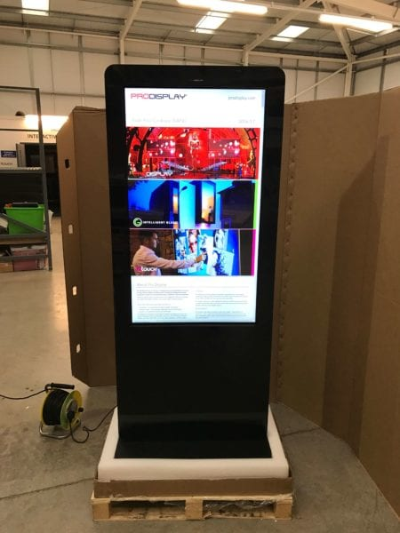 Interactive Touch Kiosk | Interactive Kiosk for Advertising