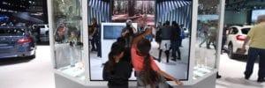 interactive mirror tv overlay beauty salons