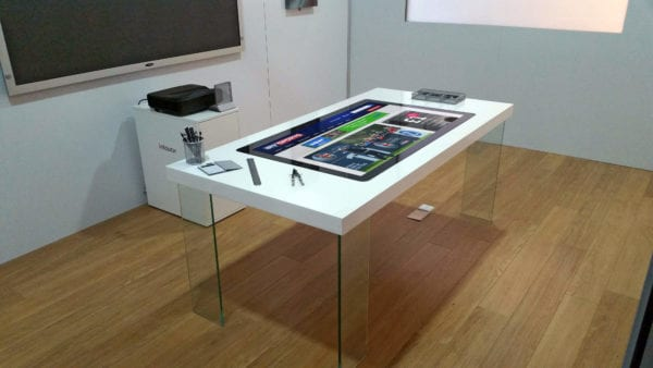 Touch Table Custom Standard Pcap Interactive Furniture Solutions