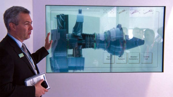 interactive transparent screen store window displays