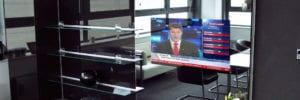tv mirror glass overlay kit