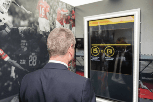 Manchester United Fan Booth