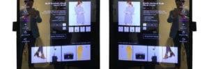 mirror retail displays changing rooms