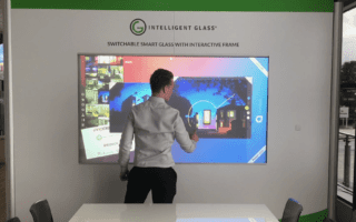 multi-touch switchable smart glass screens product launches
