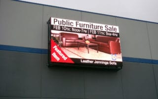 outdoor led screen malls