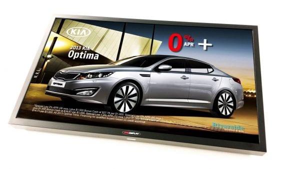 Outdoor LCD Digital Signage   IP65 High Brightness Display