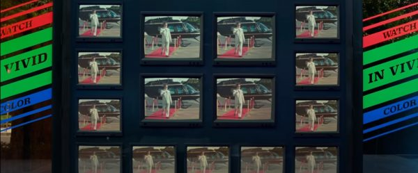Ultra Black Projection Film in Wonder Woman 1984