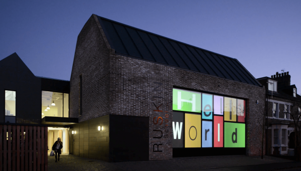 Switchable Rear Projection Film at the Ruskin School of Art