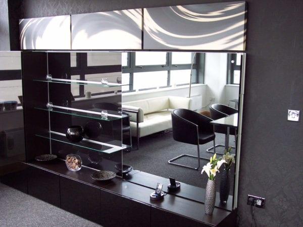 Mirror TV Overlay Kit | HD / 4K TV Mirror Glass | UK