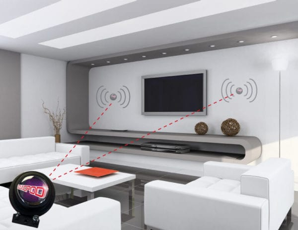 surface sound speakers retail stores