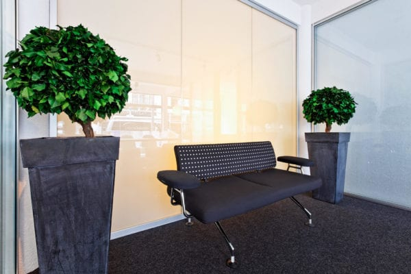 switchable smart glass boardrooms