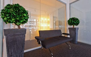 switchable smart glass meeting rooms