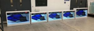 transparent LCD display product launches
