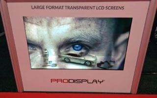transparent lcd display cases digital signage