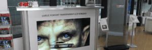 transparent lcd pos display