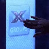 x factor projection screen