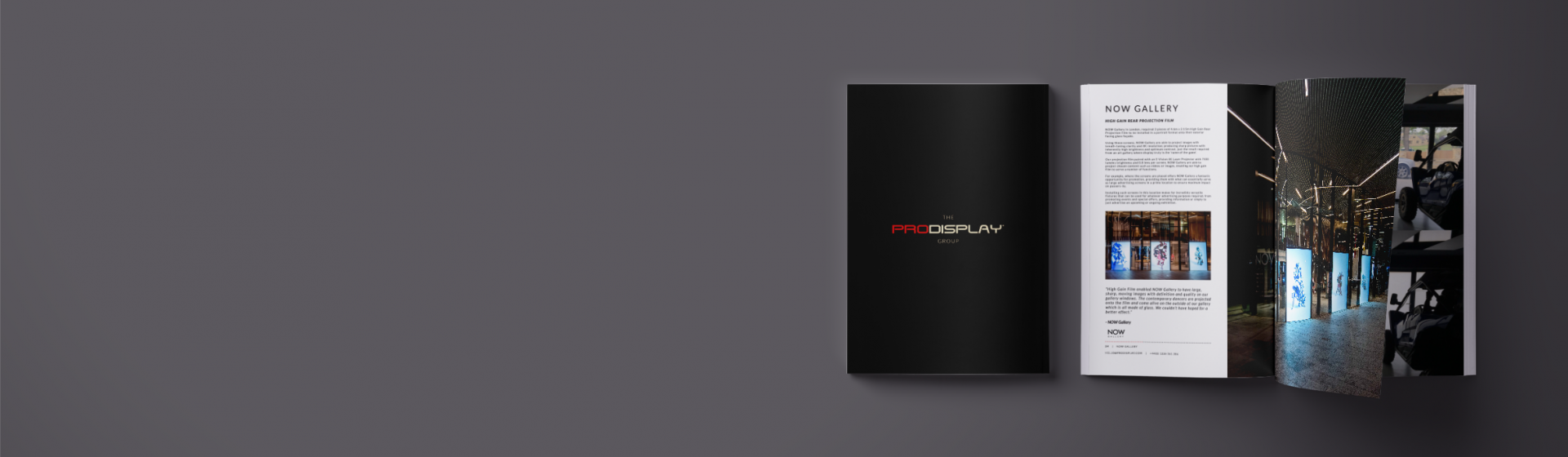 Pro Display Group Brochure